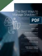 Best Ways to Manage Shadow IT