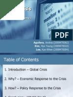 Global Crisis Korea University