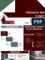Historia Del Lugar-Localidad Los Mártirez-Bogota
