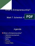 What is entrepreneurship.ppt
