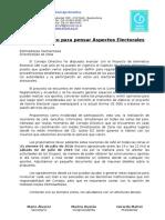 Nota Cafe Aspectos Electorales