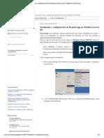 Instalación y Configuración de RemoteAp... Windows Server 2008 R2 _ CeroWarnings