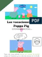 Peppa Pig Esta de Vacaciones