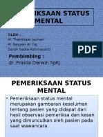 Persentasi Pemeriksaan Status Mental