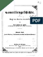Hefele Historia Conciliorum tomo 7