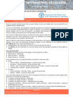CELLULE DE VEILLE ACRIDIENNE, FIL D'INFORMATION DÉCADAIRE