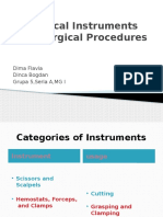 Surgical Instruments and Common Surgical Procedures