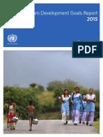 MDG 2015 Report