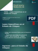Legislación Fiscal Local y Municipal y Redacción De