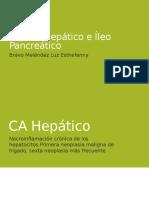 Cáncer Hepático e Íleo Pancreático1