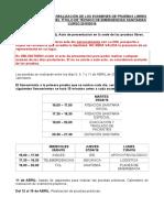 HORARIO PRUEBAS LIBRES 2016 - Emergencias.docx