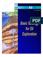 Basic Geology for Oil Exploration
