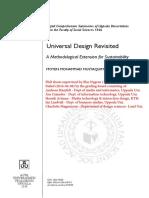 Universal Design Revisited
