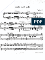 Bach Busoni - Toccata and Fugue in D Minor BWV565