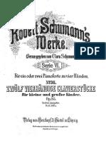 12 Piezas Para Niños Pequeños y Grandes - R. Schumann