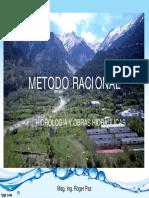 Método Racional - hidrologia