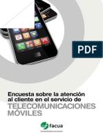 Encuesta Telecomunicaciones  Moviles