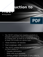 Introduction to MUET Writing (Ver.2)