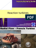 Fluid System 09-Reaction Turbine-Francis and Kaplan