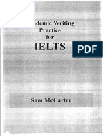Academic Writing for IELTS Sam McCarter