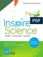 Inspire Science Overview Brochure