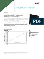 Especificaciones SmartBoard 6065