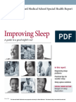 HARVARD MEDICAL Improving Sleep - a guide to a good nights rest -.pdf