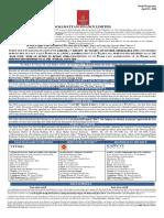 Kosamattam Finance Limited Prospectus April
