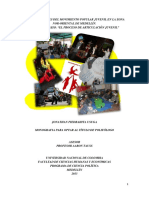 Configuración Del Movimiento Popular Juvenil en La Zona Nor-Oriental (2001-2013)