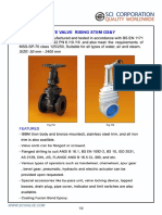 Gate Valve Rising Stem OS&Y