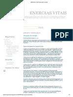 Energias Vitais_ Absorção de Energia