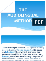 the audiolingual presentation