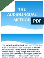 the audiolingual presentation