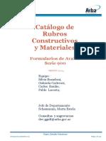 Catalogo de Rubros y Materiales v.07_2014
