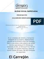 Responsabilidad Social Empresarial -  Cerrejon