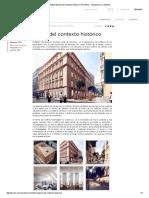 Reinterpretación Del Contexto Histórico TECNNE Arquitectura y Contextos