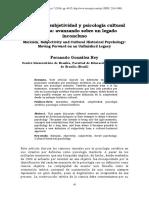 Gonzalez-Rey. Marxismo y Subjetividad