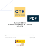 Tablas CAT-EC Materiales Construccion