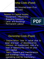 Farm Ownership Costs