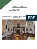 Chválenice - zpráva z průzkumu hrobky 7. 6. 2016