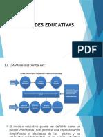 MODALIDADES EDUCATIVAS