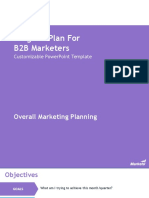 Program Plan for B2B Marketers Marketo