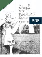Friedan Betty - La Mistica de La Feminidad