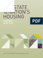 State of the Nation's Housing Report From the Joint Center for Housing Studies of Harvard University
