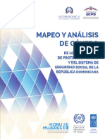Mapeo y análisis de género de los programas de protección social y del Sistema de Seguridad Social de la República Dominicana