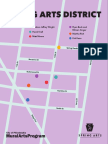 Spring Arts District Map
