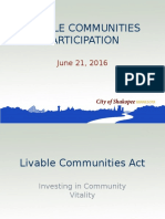 Livable Communities Participation