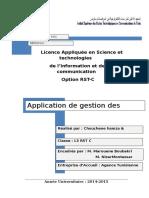Rapport PFE application de gestion des incidents réseaux