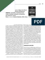 Estudios e Investigaciones; Nueva Ruralidad AL- RESEÑA