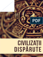 3 Civilizatii Disparute